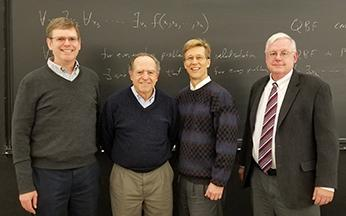 Patrick Worfolk, John Guckenheimer (PhD advisor), Rick Wicklin and Mark Myers